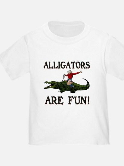 ALLIGATORS ARE FUN ! T