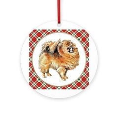 Pomeranian Ornament (Round)