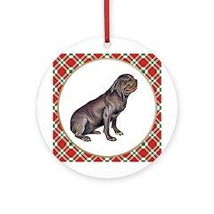 Neapolitan Mastiff Ornament (Round)