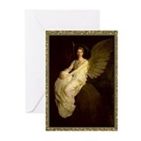 Winged figure abbot thayer Greeting Cards (20 Pack)