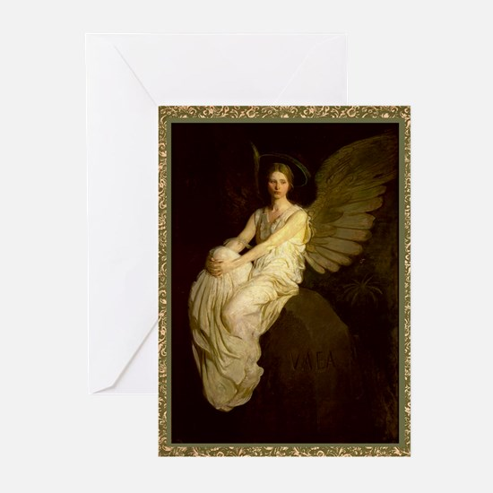 Winged Figure - Abbot Thayer Greeting Cards (20)