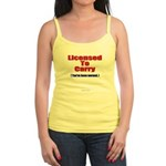 Licensed To Carry Jr. Spaghetti Tank