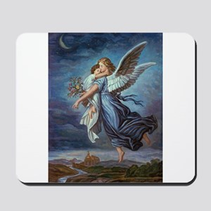 The Guardian Angel Mousepad