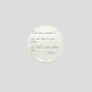 LB Fam Renee Letter Mini Button