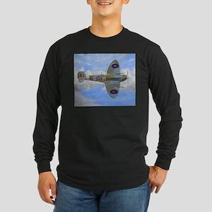 Spitfire Long Sleeve Dark T-Shirt