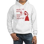 Break Necks Hooded Sweatshirt