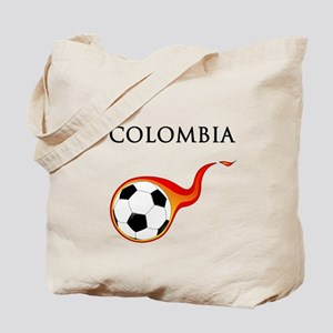 Colombia Soccer Tote Bag