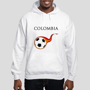 Colombia Soccer Hooded Sweatshirt