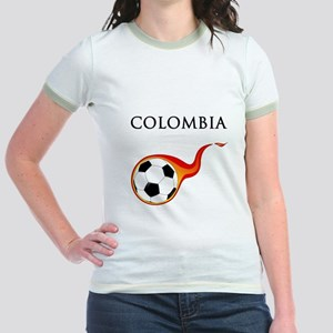 Colombia Soccer Jr. Ringer T-Shirt