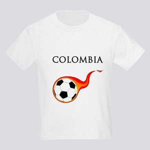 Colombia Soccer Kids Light T-Shirt