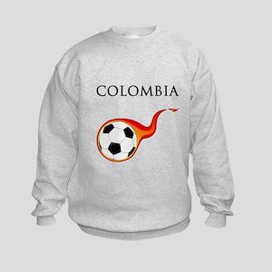 Colombia Soccer Kids Sweatshirt