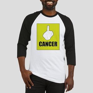 F Cancer Baseball Jersey
