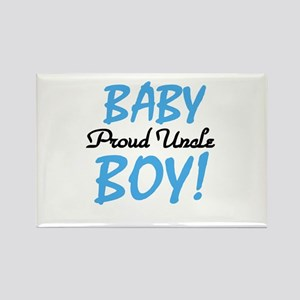 Baby Boy Proud Uncle Rectangle Magnet