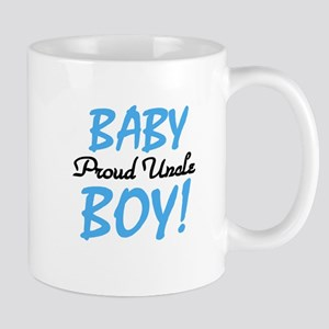 Baby Boy Proud Uncle Mug