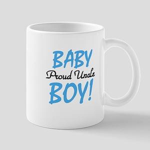 Baby Boy Proud Uncle Mug