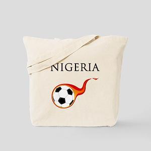 Nigeria Soccer Tote Bag