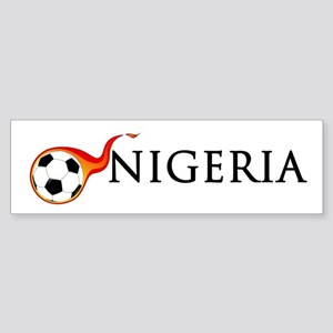 Nigeria Soccer Sticker (Bumper)