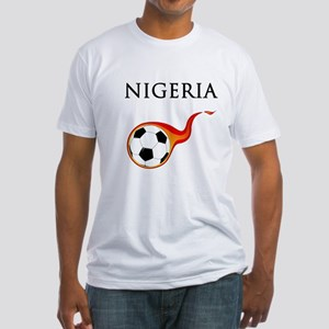 Nigeria Soccer Fitted T-Shirt