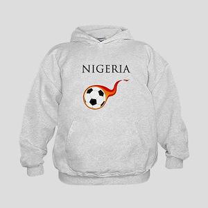 Nigeria Soccer Kids Hoodie