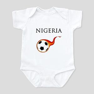 Nigeria Soccer Infant Bodysuit
