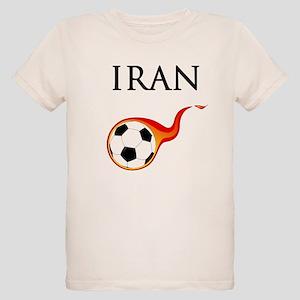Iran Soccer Organic Kids T-Shirt