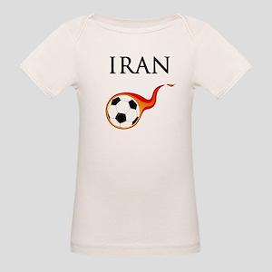 Iran Soccer Organic Baby T-Shirt