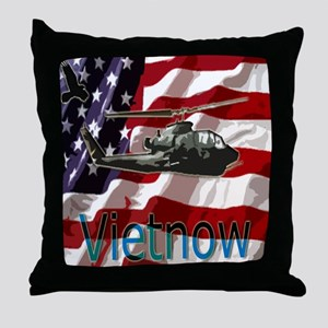 Vietnow Throw Pillow