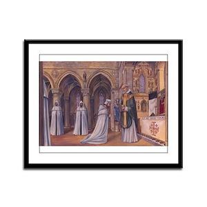 Templar Mass Framed Panel Print