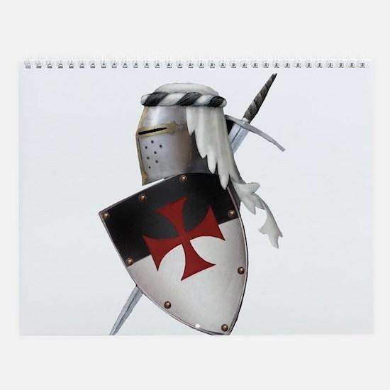 Knights Templar Wall Calendar