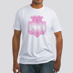 100% Albanian Princess Fitted T-Shirt