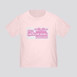 100% Albanian Princess Toddler T-Shirt