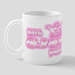 100% Albanian Princess Mug