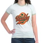 Oh Daddy Daddy O Jr. Ringer T-Shirt