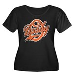 Oh Daddy Daddy O Women's Plus Size Scoop Neck Dark