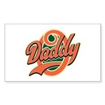 Oh Daddy Daddy O Sticker (Rectangle)