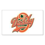 Oh Daddy Daddy O Sticker (Rectangle 50 pk)