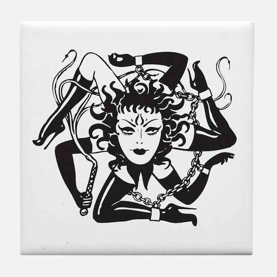 Cute Vintage gene Tile Coaster