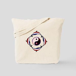 Dolphin Zen Tote Bag