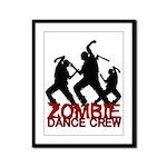 Zombie Framed Panel Print
