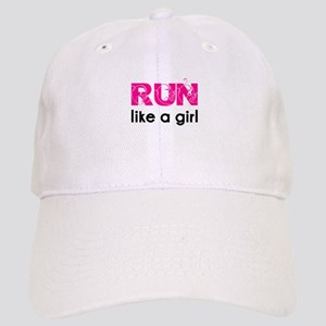 Run like a girl Cap