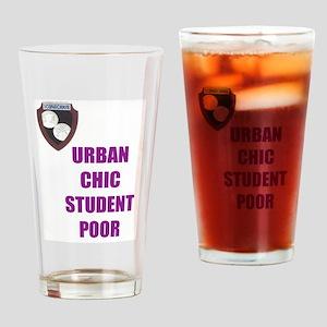 Urban Chic Student Poor-purple Drinking Glass