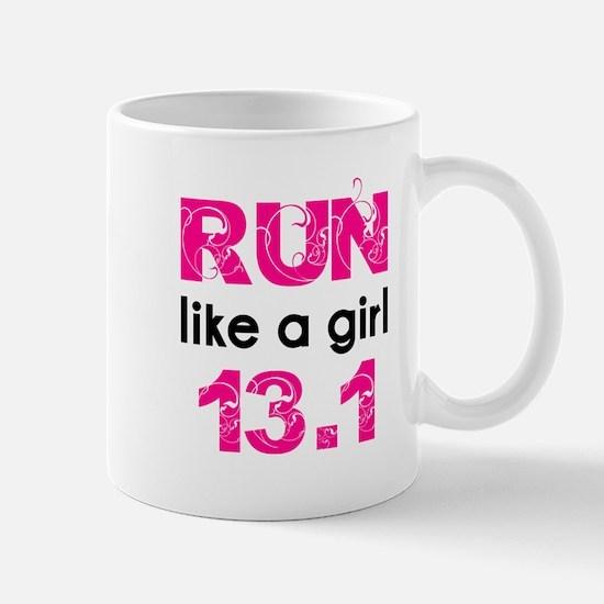 Run like a girl Mug