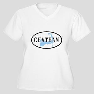Chatham Women's Plus Size V-Neck T-Shirt