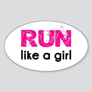 running_swirl_sticker Sticker