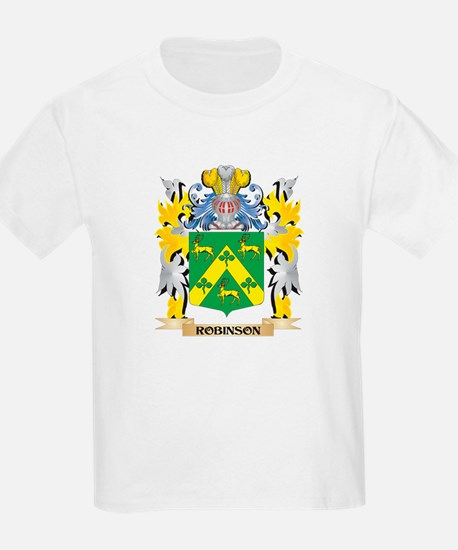 Robinson Family Crest - Coat of Arms T-Shirt