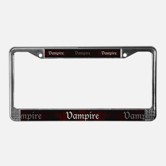 Vampire Eternal License Plate Frame
