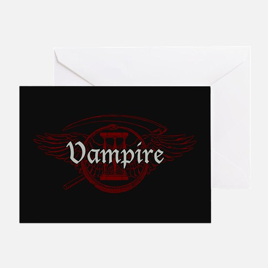 Vampire Eternal Greeting Card
