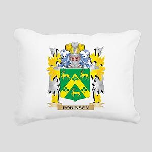 Robinson Family Crest - Rectangular Canvas Pillow