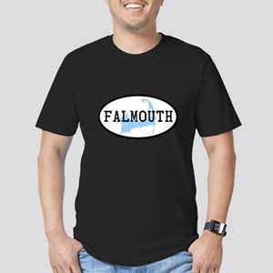 Falmouth Men's Fitted T-Shirt (dark)
