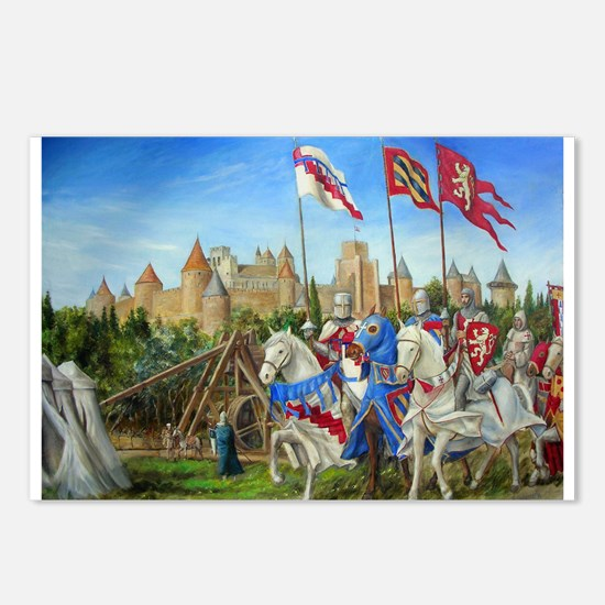Siege of Carcassonne Postcards (Package of 8)